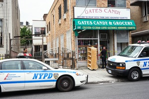 BREAKING: Bushwick candy store, which had a secret heroin and cocaine supply room, was busted by cops