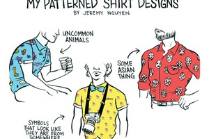 Bushwick Boys Will Love These Patterned Shirt Designs for Summer [COMIC]