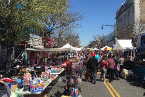 Myrtle Avenue's Annual Spring Street Fair Brought the Fun to Ridgewood