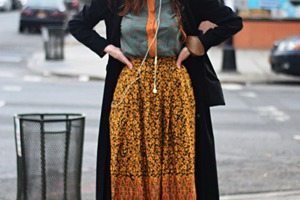 Earth Tones before Earth Day: Bushwick Street Style With Ruthie Darling