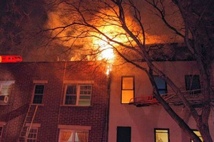 Fire Kills a Boy in Bushwick