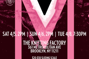 Bushwick Has Its Own Vagina Monologues: This Weekend at The Knitting Factory