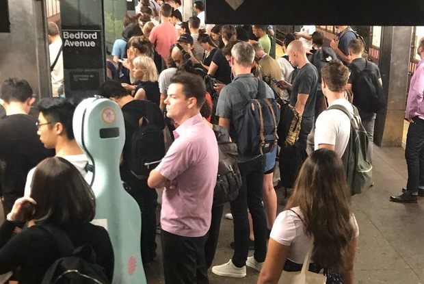 Scorcher: My First Day of the M Train's Summer of Hell