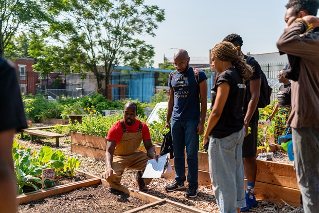 Abandoned Park Space Transformed Into Thriving Urban Learning Garden