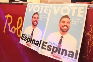 Bushwick's Councilman Espinal Packs Roberta's for Campaign Fundraiser