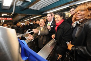 Knickerbocker M Train Station Reopened Yesterday!