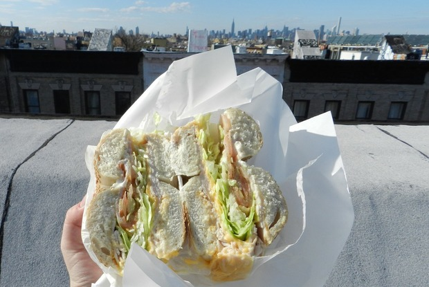Bushwick's Best Bagel Spot is: Los Primos Grocery!
