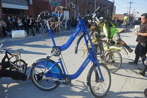 Double-Decker Citibike Was the Crowd's Fave at 2014 Bike Kill in Bushwick [Photos]
