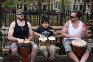 Community Drumming at Maria Hernandez Park!