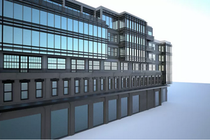 More Glass & Steel in Bushwick. A Garage is Being Converted into Apartments