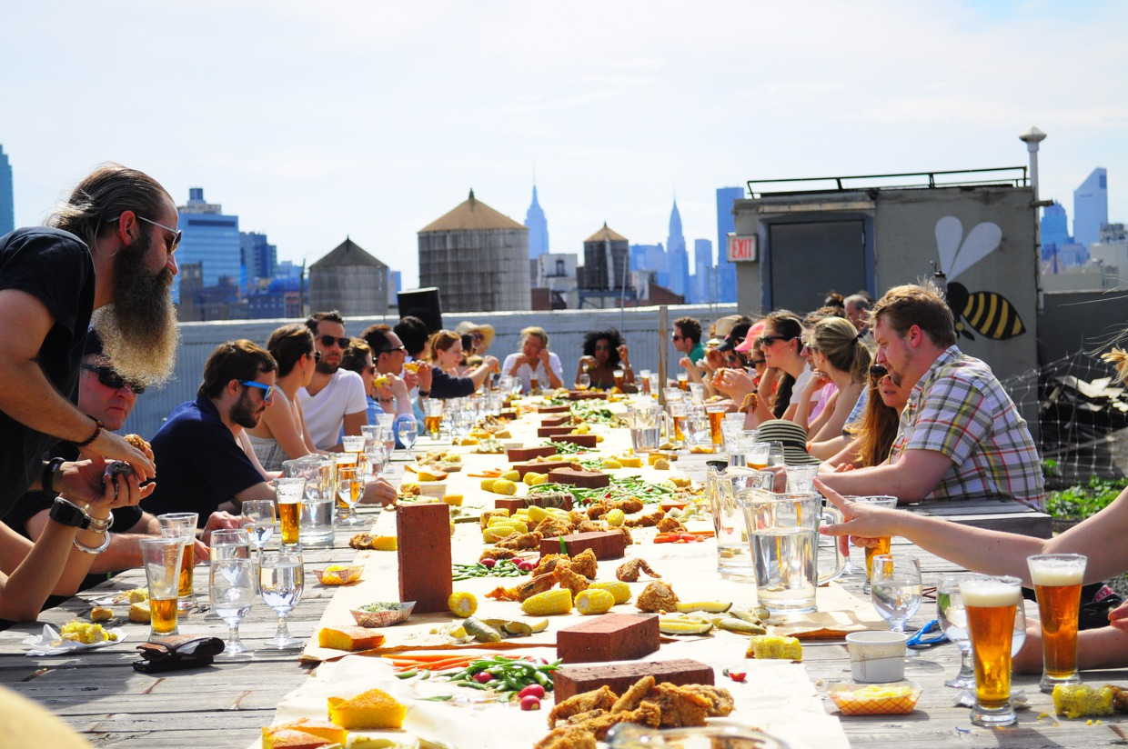 Momo Sushi Shack Is Throwing A Rooftop Dinner Party On