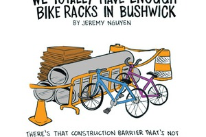 We Totally Have Enough Bike Racks in Bushwick [COMIC]