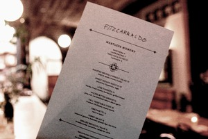 Who Says Vegetarian Meals Can't Be Decadent? Check Out Meatless Mondays at Fitzcarraldo!