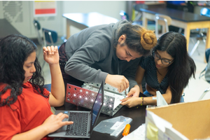 Bushwick Students Build a Mars Rover Bridging the Gap of Diversity in Tech