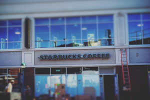 Starbucks Logo Officially Up at Myrtle-Wyckoff