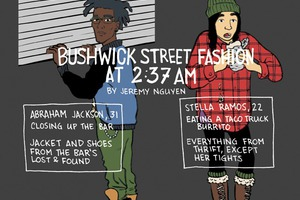 Late Night Bushwick Street Fashion [COMIC]