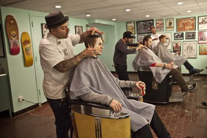 What's the Status of Hipster Beards and Other Manly Things at The Stepping Razor Barbershop