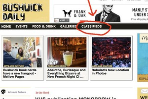 What is new? Bushwick Daily now has Classifieds!