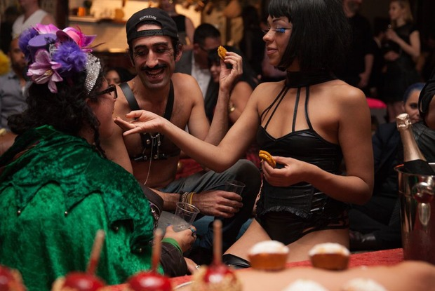 NSFW Photos: A Shy Woman Comes to LUST, Bushwick's Erotic Party