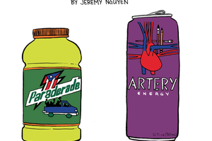 Is Bushwick Making You Tired? Try These Energy Drinks! [COMIC]