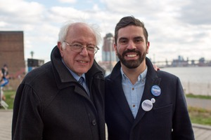 Bushwick Council Member Rafael Espinal Talks Bernie Sanders with Bushwick Daily