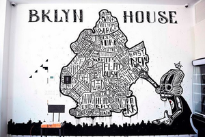 BKLYN House Hotel Commissions 11 Local Artists to Paint Its Walls the Brooklyn Way