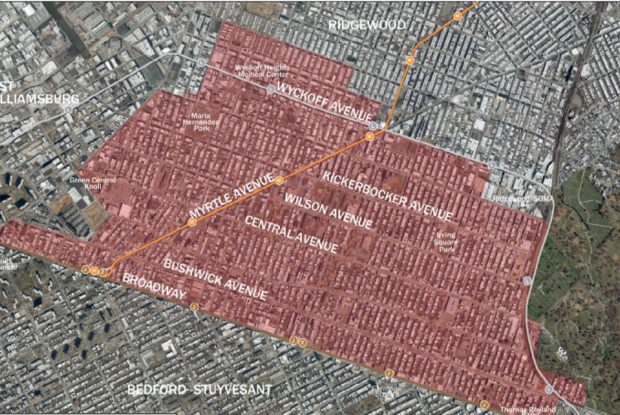 The Department of City Planning Presented Bushwick Rezoning Plan