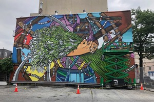 New Williamsburg Mural Celebrates the Puerto Rican Community