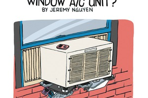 Your AC Unit Will Fall Out Your Window Without This Stuff [COMIC]
