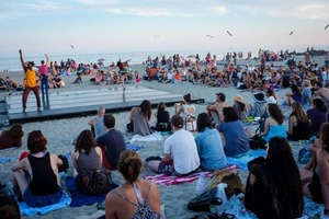 Catch a Tan and Free Art with Dance Performances at Rockaway Beach