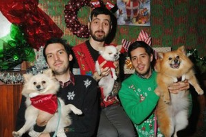 Bust Out Those Matching Sweaters: Bushwick Bark's Awkward Family Holiday Pet Photoshoot Is Nigh!