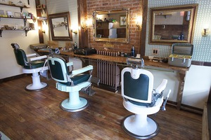Get An Old-Fashioned Gentlemen's Cut & Shave at The Land of Barbers