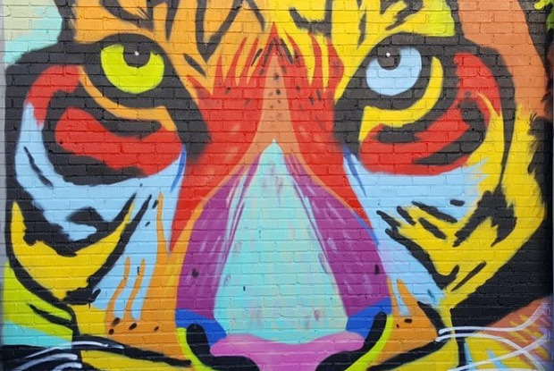 Female Graffiti Artist on the Rise in Bushwick Art Community