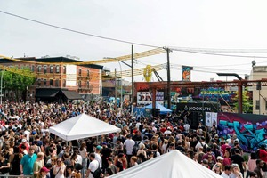 Bushwick Collective is officially back for its 7th annual Block Party this Saturday