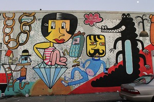 Berliner Takes over Factory Fresh Mural