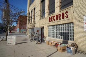 Inside Superior Elevation Records, East Williamsburg's Basement Record Shop
