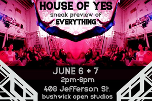 Newly Built House of Yes Venue Will Open its Doors for a Sneak Preview During Bushwick Open Studios