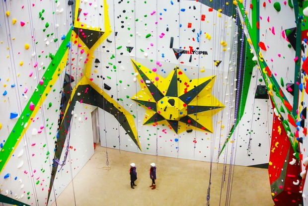 Bring on the Boulders: MetroRock Is Bushwick's Newest Climbing Gym