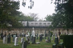 A Dead Man Was Found on the Ground in Bushwick's Most Holy Trinity Cemetery