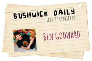Artist FlashCards: Collect 'em all! This Week Outrageously Bright, Ben Godward