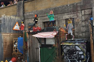 "Banksy's	""Dismaland"" Reminds Us A Lot of Bushwick"