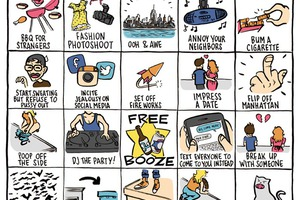 What Happens on Your Rooftop? Play Bushwick Rooftop Bingo!