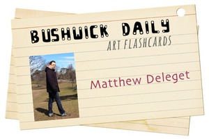 Artist Flashcards: Matthew Deleget and his Deconstructive Paintings