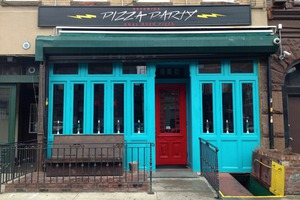 Pizza Party Has You Covered on All Your 80s Time Travel Needs and Pizza...Duh!
