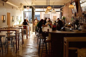 Father Knows Best is Bushwick's Greatest New Cafe/Restaurant/Bar off the Wilson Stop