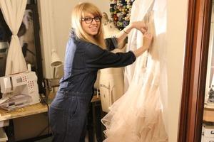 Bridal Designer Creates Stunning Work From Her Bushwick Studio