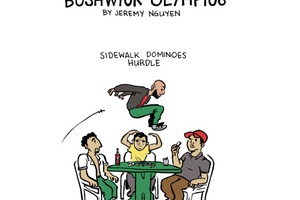 Events at the Bushwick Olympics [COMIC]