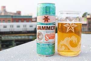 Tasting Sixpoint's New Sea Salt Brew, Jammer