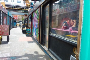 Kpiss, Bushwick's Internet Radio, Broadcasts from a Shipping Container in Punk Alley