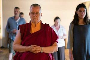Meet the Buddhist Monks Leading Guided Meditation in Bushwick